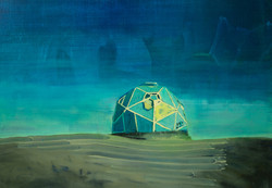 PS1321 Love Hex - Oil on Canvas - 40 x 50 cm - 2013