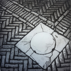 venice pavement etching for chichester