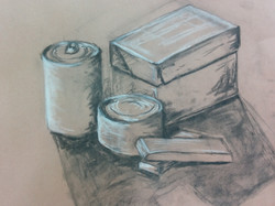 Charcoal and chalk1