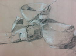 Charcoal and chalk 2
