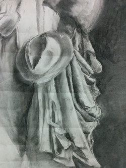 Chalk and charcoal