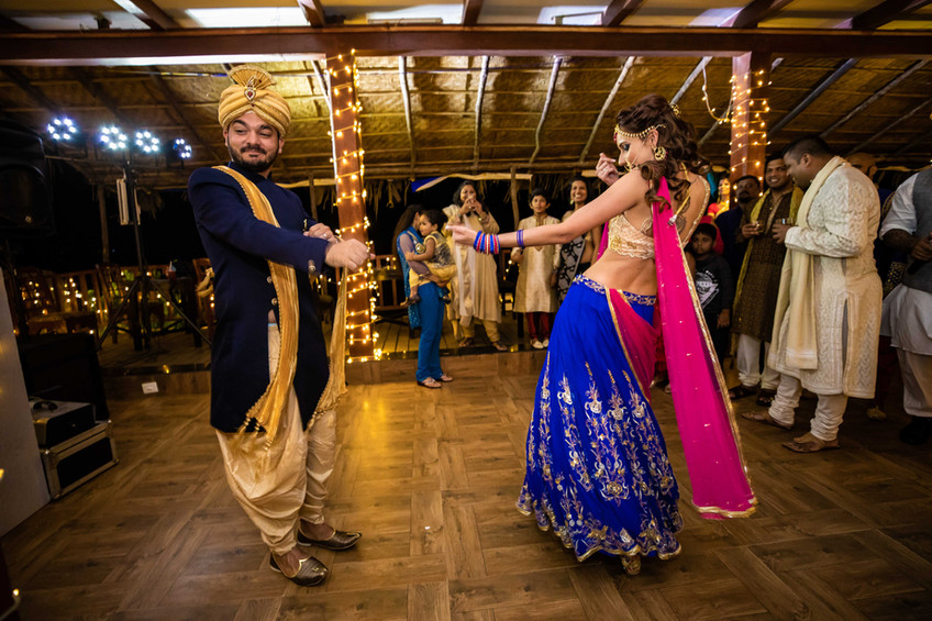 Elton & Joanna|Indian Night Sangeet| Goa