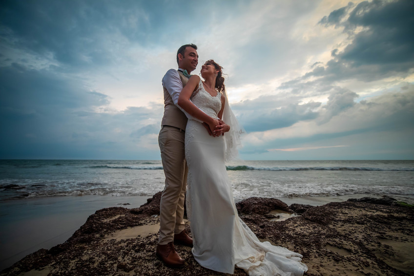 Elton & Joanna|Beach Wedding at La Cabana Resort & Spa|Goa