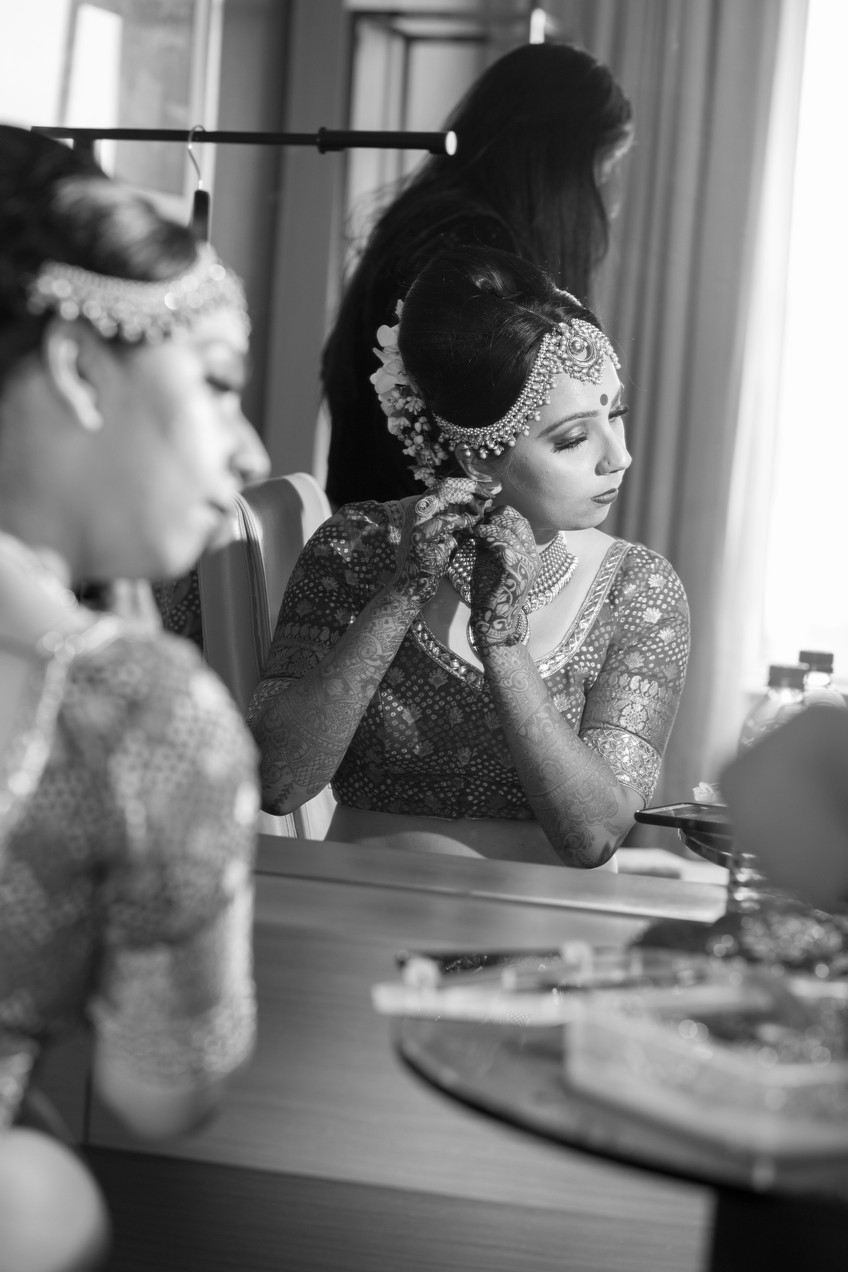 Doll me up| Getting Ready for her big day