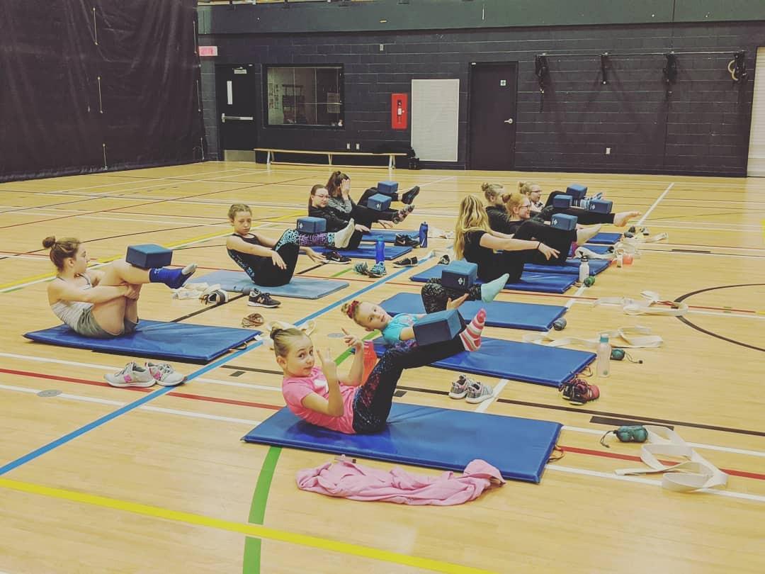 séminaire de patinage artistique yoga enfant