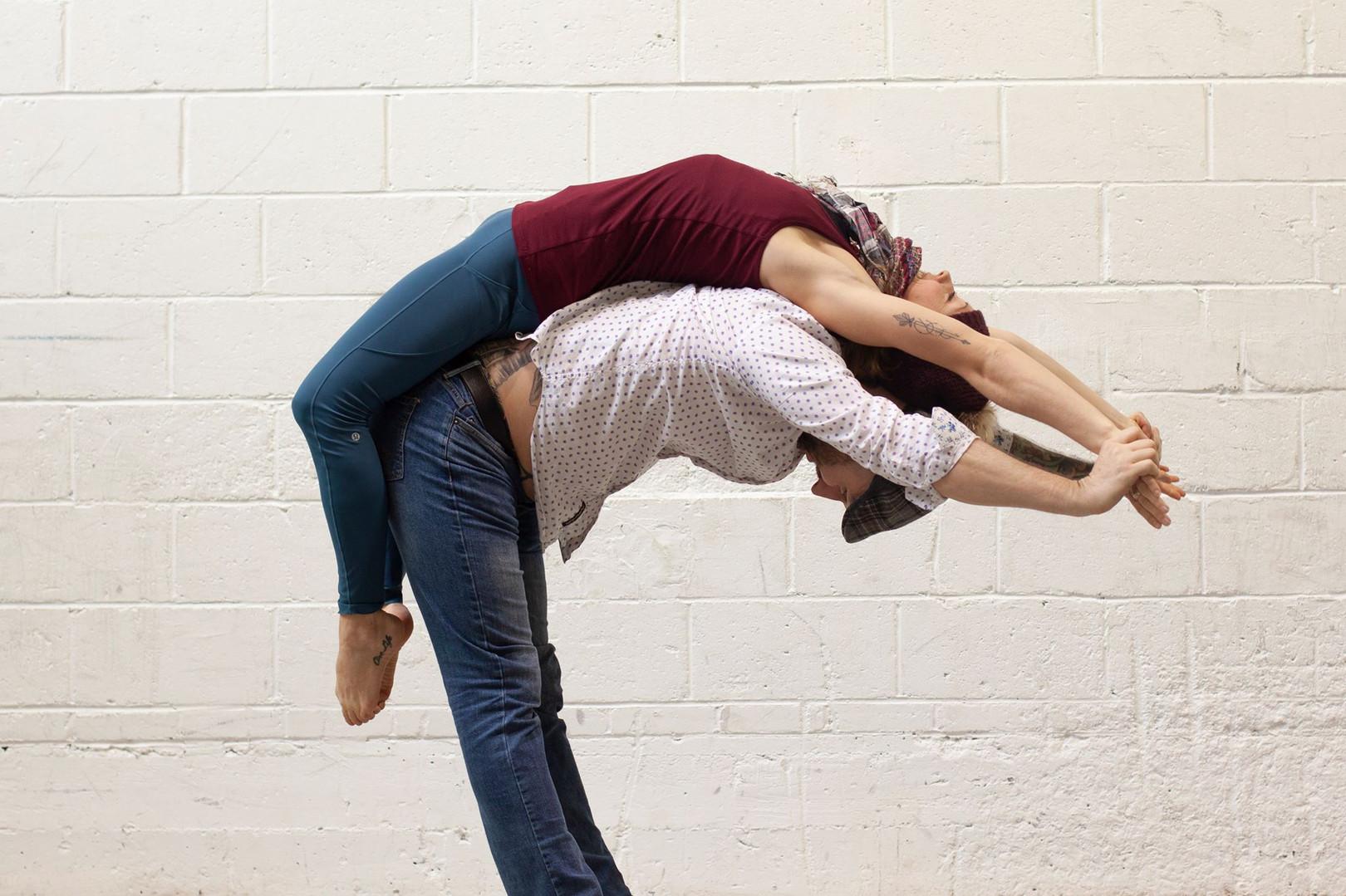 yoga duo St-Valentin Québec