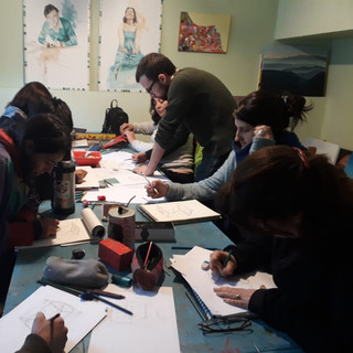 Seminario de Dibujo en volumen