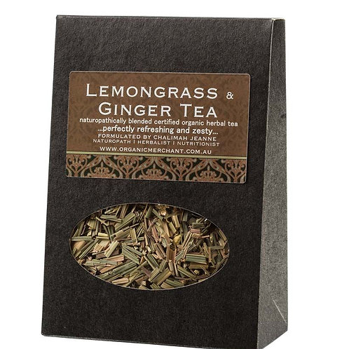 Lemongrass & Ginger Tea Box