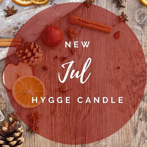 Cinnamon Jul Scented Hygge Candle