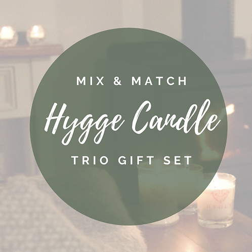 Hygge Candle Trio Gift Set