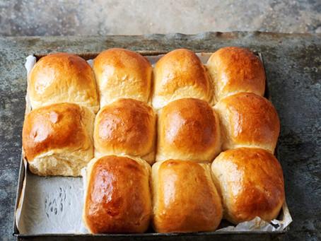Heaven is... Freshly baked Danish rolls