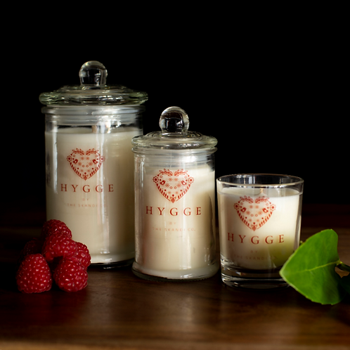 Cloudberry Scented Hygge Candle