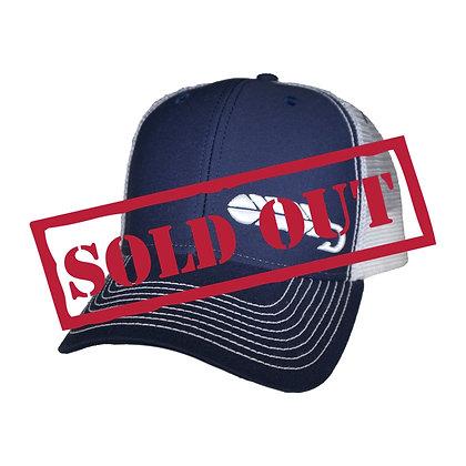 Navy Streamer Hat