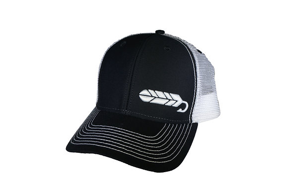 Black Streamer Hat