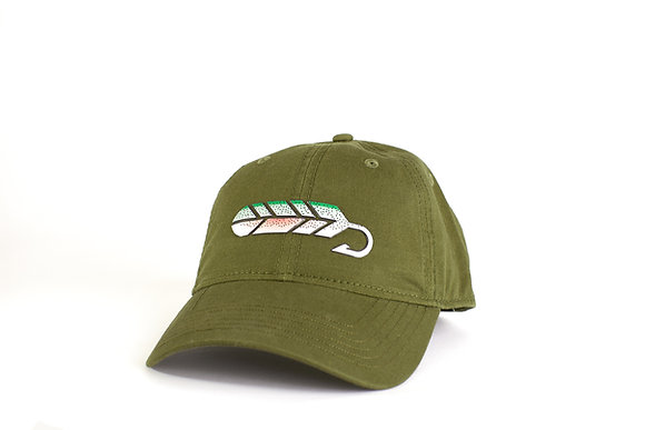 Green Rainbow Trout Hat