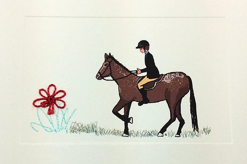 AN035 - SPOTTED HORSE