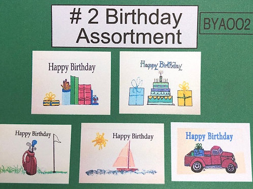 BYA002 - BIRTHDAY ASSORTMENT