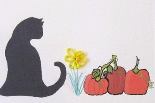 FA002 - CAT PUMPKINS