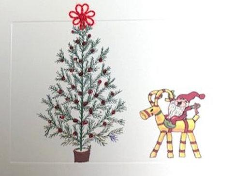 HY035 - STRAW HORSE TREE