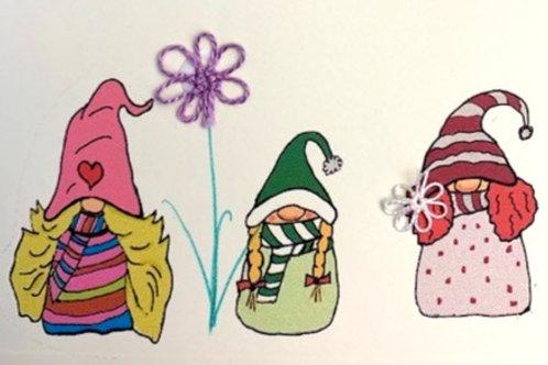 HY119 - 3 GNOME GIRLS