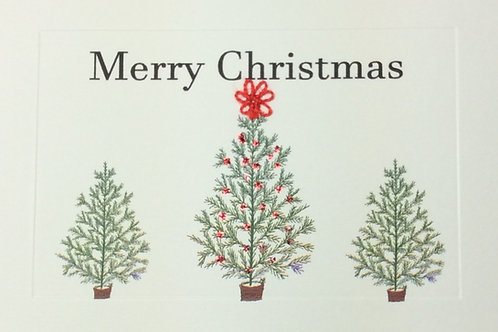 HY093 - MERRY CHRISTMAS TREES