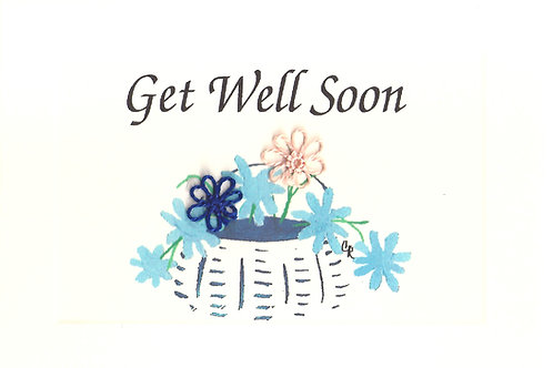 GR016 - GET WELL BASKET