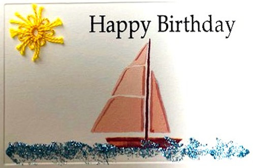 BY028 - BOAT BIRTHDAY