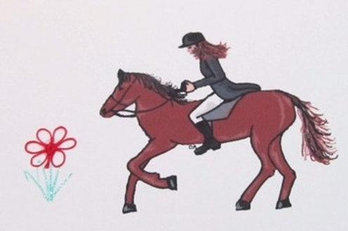 AN016 - HORSE W/RID