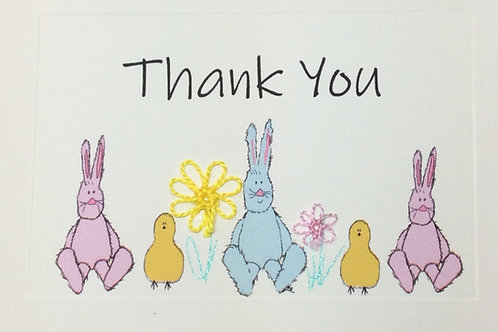 TY034 - BUNNIES THANK YOU