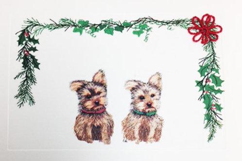 DGH039 - YORKIE CHRISTMAS
