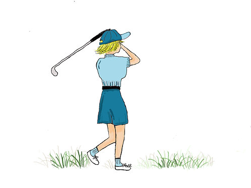 SP014 - GOLF LADY BLUE