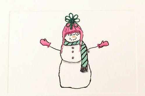 WN010 - SNOW PINK HAT