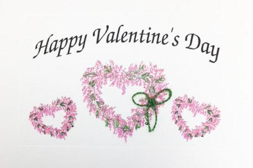GR054 - VALENTINE 3 HEARTS