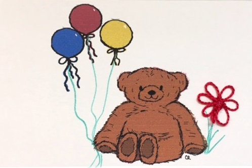 AN019 - BALLOON BEAR