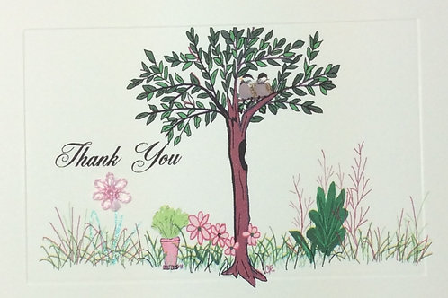 TY037 - SPRING TREE THANK YOU