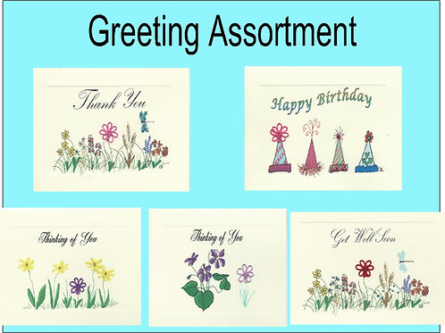 GRA001 - GREETING ASSORTMENT