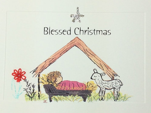 HY020A - BLESSED CHRISTMAS