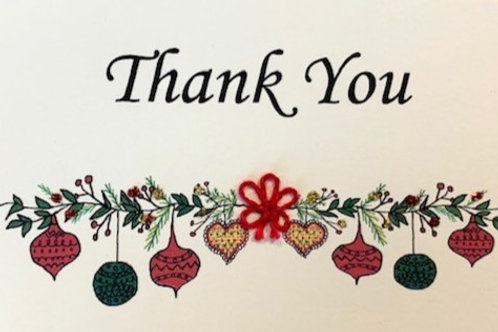 HY111 - THANK YOU ORNAMENTS