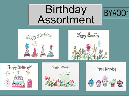 BYA001 - BIRTHDAY ASSORTMENT