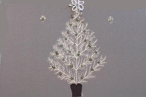 HY091 - GREY CHRISTMAS TREE