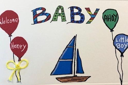 GR095 - BABY AHOY