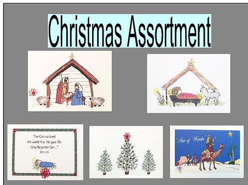 CA001 - CHRISTMAS ASSORTMENT