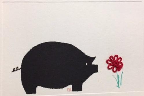 AN001 - BLACK PIG