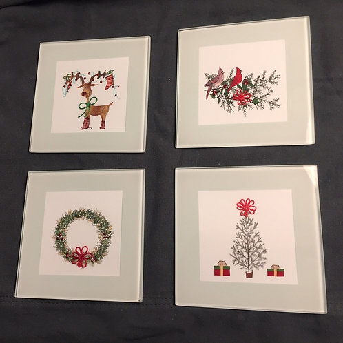 CSC001 - CHRISTMAS COLLECTION COASTERS