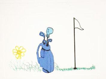 SP013 - GOLF BAG BLUE