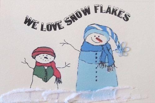 WN008 - LOVE SNOW FLAKES
