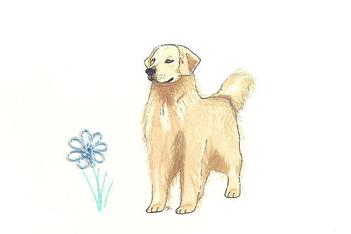 DG022A - GOLDEN RETRIEVER