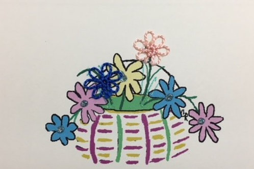 HY046 - EASTER BASKET