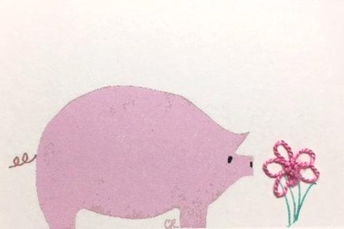 AN002 - PINK PIG