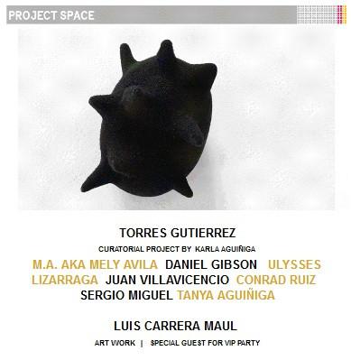 Torres Gutiérrez project space